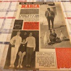 Coleccionismo deportivo: SUPLEM.MARCA(26-11-64)BAHAMONTES(CICLISMO)PROX.MUNDIAL INGLATERRA-66,ANGELES HORTELANO Y SEMINARIO. Lote 106678247