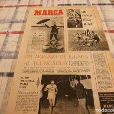 Coleccionismo deportivo: SUPLEM.MARCA(11-2-65)SIR STANLEY MATTHEWS,MONTAÑISMO ESPAÑOL,CHURRASCO AT.MADRID EN METROPOLITANO. Lote 106684711