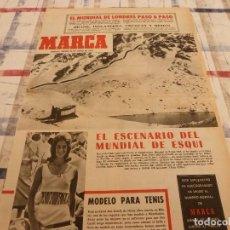 Coleccionismo deportivo: SUPLEM.MARCA(24-6-65)LUCERO TENA Y GALIANA,MUNDIAL-66,INTER MILÁN CAMPEON EUROPA,CLUB MEDINA(GIJON). Lote 165127401
