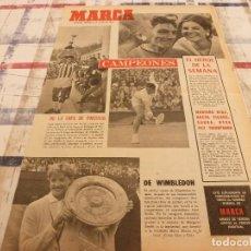 Coleccionismo deportivo: SUPLEM.MARCA(8-7-65)F.C.SIÓN CAMPEÓN COPA SUIZA,AT.MADRID DE ESPAÑA,PAULA MARTEL Y ARROYO. Lote 106913639