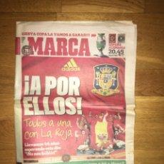 Coleccionismo deportivo: MARCA 28 JUNIO 2008 SELECCIÓN ESPAÑOLA ESPAÑA EUROCOPA. Lote 107178624