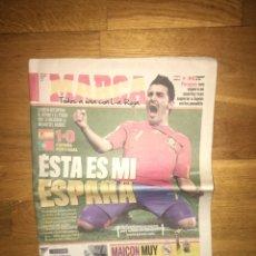 Coleccionismo deportivo: MARCA 30 JUNIO 2010 ESPAÑA 1 PORTUGAL 0 MUNDIAL SELECCIÓN ESPAÑOLA. Lote 107178927