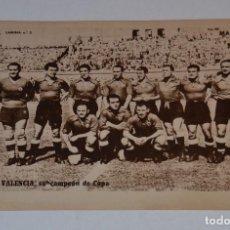 Coleccionismo deportivo: ANTIGUA LAMINA DEL VALENCIA SUBCAMPEÓN DE COPA DE FUTBOL. DEL PERIÓDICO MARCA. Lote 107312335