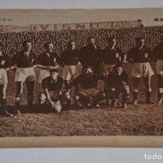 Coleccionismo deportivo: ANTIGUA LAMINA DEL OVIEDO DE FUTBOL. DEL PERIÓDICO MARCA. Lote 107312687