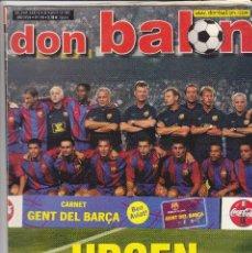 Coleccionismo deportivo: REVISTA DON BALON N 1398.ATHLETIC-FC.BARCELONA-POSTER ALBERTINI AT.MADRID.. Lote 107418711