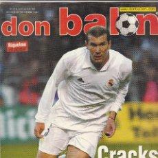 Coleccionismo deportivo: REVISTA DON BALON N 1397.SAEZ-NUEVO DEPOR-POSTER RIQUELME FC.BARCELONA.. Lote 107420147
