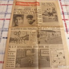 Coleccionismo deportivo: MUNDO DEPORTIVO(21-10-65)EL EQUIPO HENRI COLOMER,LA LUCHA LIBRE,FRIGORIFICOS IBERIA.. Lote 107439907