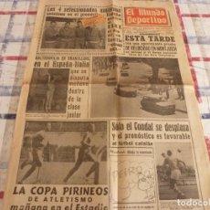 Coleccionismo deportivo: MUNDO DEPORTIVO(23-10-65)WALDO(VALENCIA)LA LUCHA LIBRE,FRIGORIFICO IBERIA.. Lote 107443459