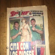Colecionismo desportivo: SPORT 18 MAYO 1994 BARÇA FC BARCELONA CHAMPIONS COPA EUROPA MILÁN ROMARIO STOICHKOV. Lote 107469038