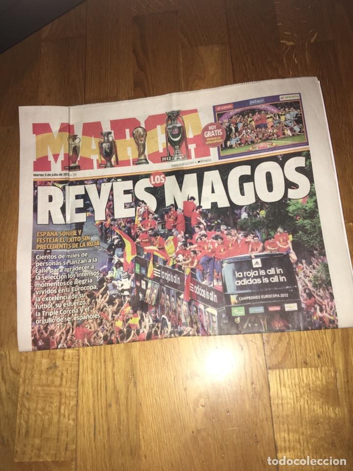 MARCA 3 JULIO 2012 ESPAÑA EUROCOPA (Coleccionismo Deportivo - Revistas y Periódicos - Marca)