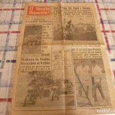 Coleccionismo deportivo: MUNDO DEPORTIVO(13-11-65)SEVILLA C.F.,INDIO DEL FUEGO(LUCHA LIBRE)VUELTA MOTORISTA VALLÉS. Lote 107469519