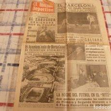 Coleccionismo deportivo: MUNDO DEPORTIVO(26-11-65)TEMPORADA DEL ATH.BILBAO,LA LUCHA LIBRE,EL CINE EN EL MUNDO.. Lote 107507183