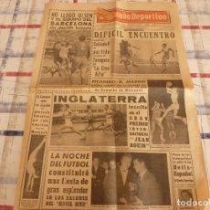 Coleccionismo deportivo: MUNDO DEPORTIVO(27-11-65)LA NOCHE DEL FUTBOL DE MUNDO DEPORTIVO,LA LUCHA LIBRE.. Lote 107507411