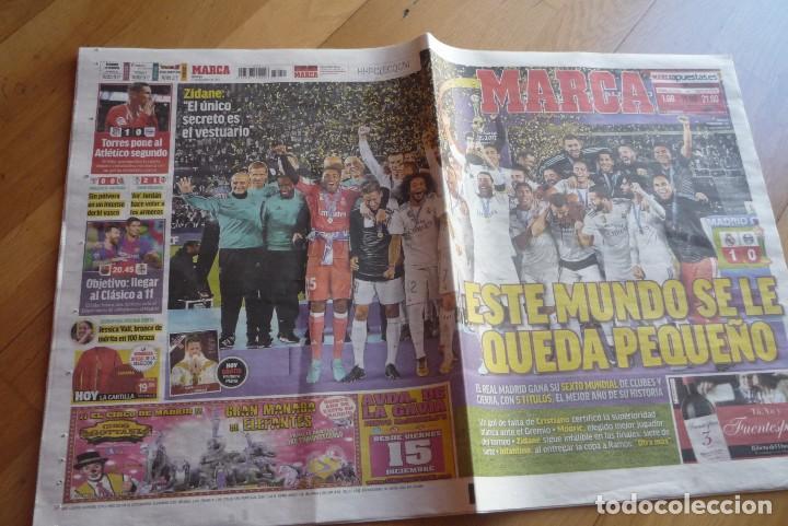 DIARIO MARCA. FINAL MUNDIAL DE CLUBES 2017.REAL MADRID 1-GREMIO 0. NUEVO. (Coleccionismo Deportivo - Revistas y Periódicos - As)