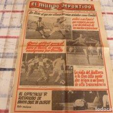 Coleccionismo deportivo: MUNDO DEPORTIVO(9-1-66)RALLY SANTA CRUZ DE OLORDE,EL ELCHE,LUCHA LIBRE,PITU FIGUERAS(ESQUI). Lote 107590487