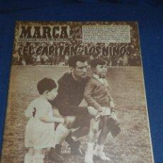 Coleccionismo deportivo: (M21) MARCA NUM 810 MADRID 1958 - PORTADA R MADRID CAMPEONES DE EUROPA - YOUNG FELLOWS. Lote 107601899