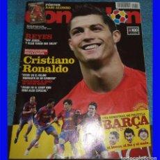 Coleccionismo deportivo: DON BALON REV. 1696 AÑO 2008 POSTER XABI ALONSO CRISTIANO RONALDO. Lote 107743035