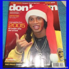 Coleccionismo deportivo: DON BALON REV. 1575 AÑO 2005 POSTER BETIS. Lote 107744683