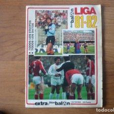 Coleccionismo deportivo: REVISTA FUTBOL DON BALON EXTRA LIGA 81 82 CON 128 PAGINAS - TEMPORADA 1981 1982. Lote 107796803