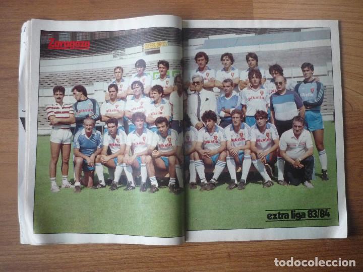 Coleccionismo deportivo: REVISTA FUTBOL DON BALON EXTRA LIGA 83 84 CON 124 PAGINAS - TEMPORADA 1983 1984 - Foto 7 - 107797799