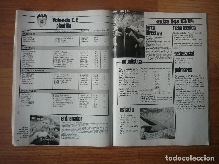 Coleccionismo deportivo: REVISTA FUTBOL DON BALON EXTRA LIGA 83 84 CON 124 PAGINAS - TEMPORADA 1983 1984 - Foto 8 - 107797799