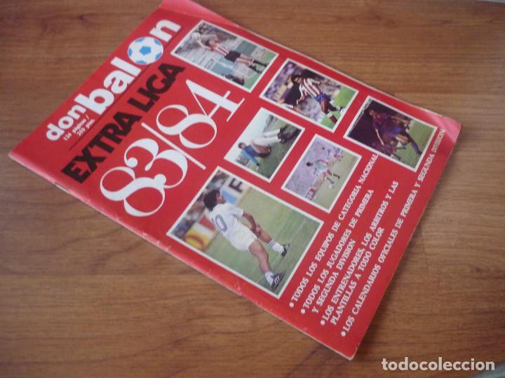 Coleccionismo deportivo: REVISTA FUTBOL DON BALON EXTRA LIGA 83 84 CON 124 PAGINAS - TEMPORADA 1983 1984 - Foto 17 - 107797799