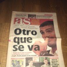 Coleccionismo deportivo: AS 12 ABRIL 2001 GUARDIOLA SE VA FC BARCELONA BARÇA COMO JUGADOR. Lote 107860390