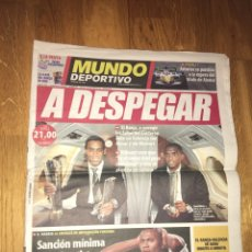 Coleccionismo deportivo: MUNDO DEPORTIVO 21 SEPTIEMBRE 2005 FC BARCELONA ETO'O RONALDINHO BARÇA. Lote 107942664