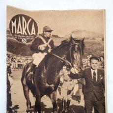 Collectionnisme sportif: MARCA SEMANARIO GRÁFICO DE LOS DEPORTES 76. HIPICA, EQUITACIÓN, CARRERAS DE CABALLOS: SAN SEBASTIÁN. Lote 107952339