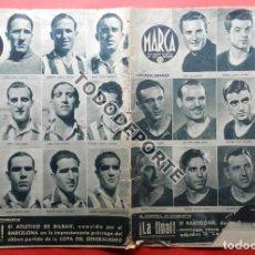 Coleccionismo deportivo: SEMANARIO MARCA FC BARCELONA CAMPEON COPA DEL GENERALISIMO 1942 - ATHLETIC CLUB BILBAO BARÇA 42. Lote 108011923