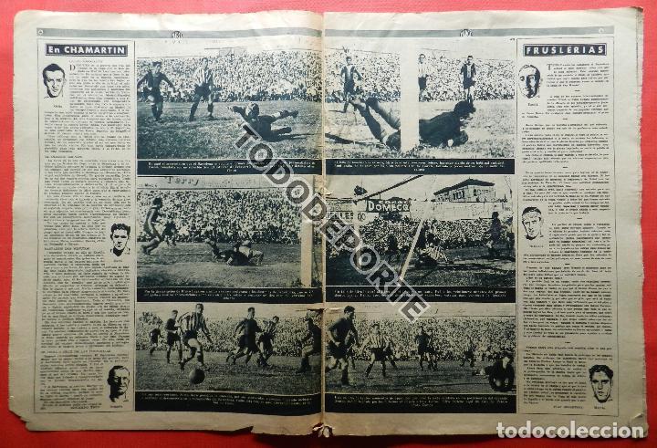 Coleccionismo deportivo: SEMANARIO MARCA FC BARCELONA CAMPEON COPA DEL GENERALISIMO 1942 - ATHLETIC CLUB BILBAO BARÇA 42 - Foto 5 - 108011923