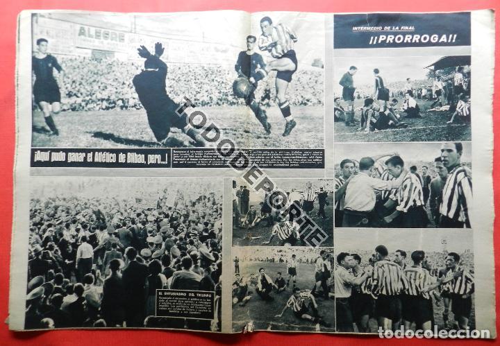 Coleccionismo deportivo: SEMANARIO MARCA FC BARCELONA CAMPEON COPA DEL GENERALISIMO 1942 - ATHLETIC CLUB BILBAO BARÇA 42 - Foto 9 - 108011923