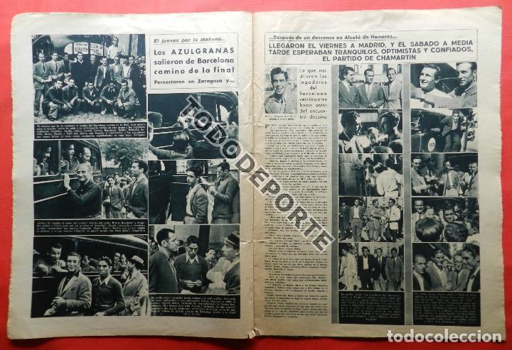 Coleccionismo deportivo: SEMANARIO MARCA FC BARCELONA CAMPEON COPA DEL GENERALISIMO 1942 - ATHLETIC CLUB BILBAO BARÇA 42 - Foto 11 - 108011923