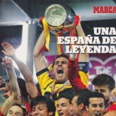Coleccionismo deportivo: EUROCOPA 2012. REVISTA UNA ESPAÑA DE LEYENDA. DE MARCA. Lote 206513568