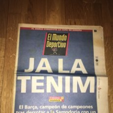 Coleccionismo deportivo: MUNDO DEPORTIVO 21876 21 MAYO 1992 FC BARCELONA 1 SAMPDORIA 0 CAMPEÓN COPA EUROPA KOEMAN BARÇA. Lote 108026420