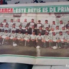 Coleccionismo deportivo: MARCA MAYO 1994 ESPECIAL MUCHO BETIS ASCENSO A PRIMERA . Lote 108246603