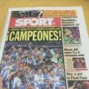Coleccionismo deportivo: SPORT. N 9528. 13/4/2006. FINAL COPA. ESPAÑOL,4-ZARAGOZA,1. Lote 108309056