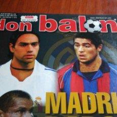 Coleccionismo deportivo: DON BALON NÚMERO 1359 PALERMO, XISCO POSTER DE VERON MANCHESTER UNITED. Lote 108315458