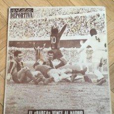 Coleccionismo deportivo: VIDA DEPORTIVA (27-1-1962) BARCELONA 3-1 REAL MADRID . Lote 108772555