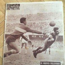 Colecionismo desportivo: VIDA DEPORTIVA (8-1-1962) BARCELONA OLYMPIACOS MALLORCA ESPAÑOL AT MADRID OSASUNA SEVILLA TENERIFE. Lote 108772643