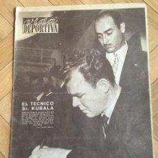 Coleccionismo deportivo: VIDA DEPORTIVA (12-6-1961) KUBALA BARCELONA ESPAÑA ARGENTINA ENRIQUE LLAUDET VALENCIA. Lote 158214998