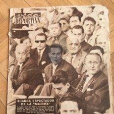 Colecionismo desportivo: VIDA DEPORTIVA (22-5-1961) SUAREZ POBLET GIRO TENERIFE ASCENSO A PRIMERA ESPAÑOL BARCELONA GALES. Lote 108773203