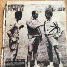 Collectionnisme sportif: VIDA DEPORTIVA (14-8-1961) CZIBOR BARCELONA VALENCIA SARRIA ESPAÑOL RACING SANTANDER ELCHE. Lote 108773807