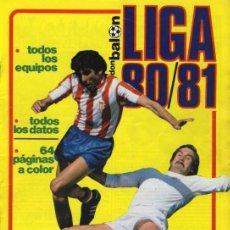 Coleccionismo deportivo: REVISTA DON BALON - EXTRA LIGA 80/81 AÑO 1980 DONBALON. Lote 108822331