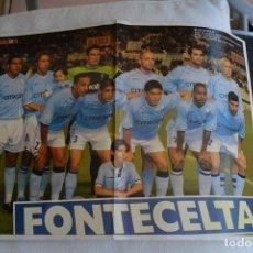 Coleccionismo deportivo: POSTEDR DON BALON CELTA DE VIGO 2002-03. Lote 108836723