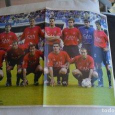 Coleccionismo deportivo: POSTEDR DON BALON OSASUNA 2002-03. Lote 108837155