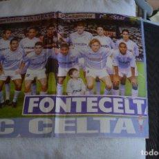Coleccionismo deportivo: POSTEDR DON BALON CELTA DE VIGO 2002-03. Lote 108837715
