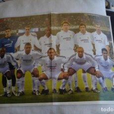 Coleccionismo deportivo: POSTER DON BALON REAL MADRID 2002-03. Lote 108838527