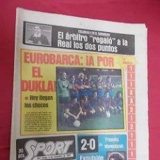 Collectionnisme sportif: SPORT Nº 701. 2 NOVIEMBRE 1981 ESCANDALO EN EL SARDINERO EL ARBITRO REGALO A LA REAL LOS DOS PUNTOS.. Lote 108842679