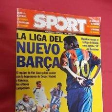 Coleccionismo deportivo: SPORT. SUPLEMENTO ESPECIAL LIGA 2002/2003.. Lote 108869039